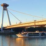 Un ovni sobre el Danubio