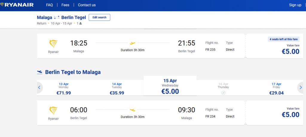 viaje low cost europa