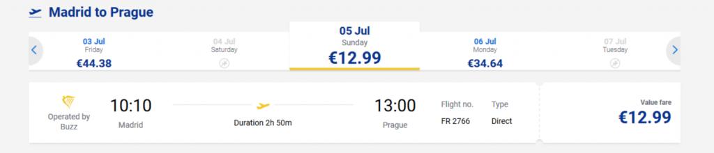 viaje low cost por europa