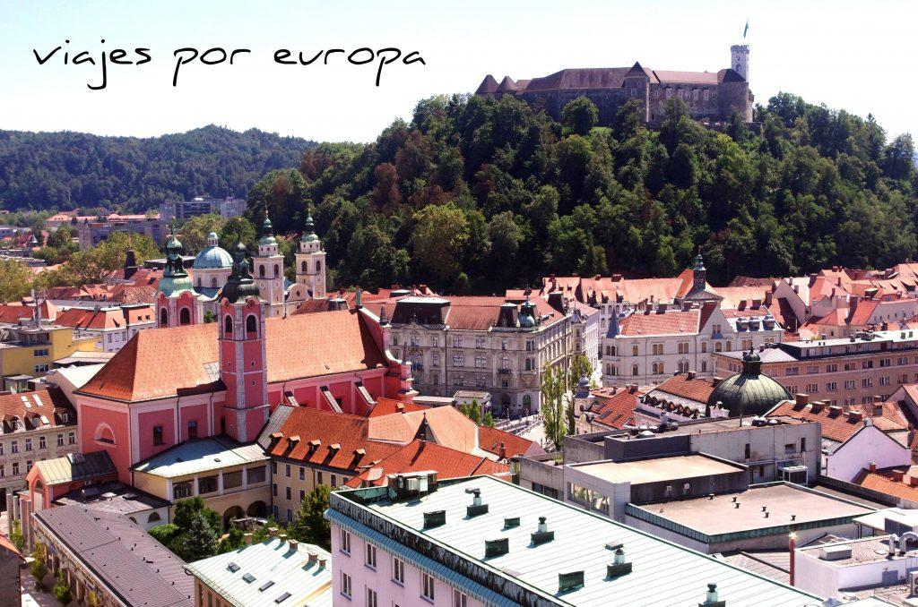 Liubliana, la capital de eslovenia